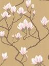 Magnolia - Designtapete von Cole and Son - Antikgold
