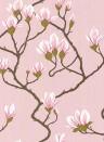 Magnolia - Designtapete von Cole and Son - Altrosa
