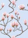 Magnolia - Designtapete von Cole and Son - Hellblau