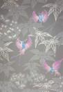 Tapete Grove Garden von Osborne and Little - Chocolate/Lilac
