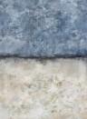 Wallpainting - Digitales Wandbild - Blau/ Beton