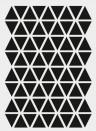 Wallsticker Mini Triangle von ferm LIVING - schwarz