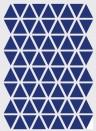 Wallsticker Mini Triangle von ferm LIVING - blau