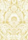 Chatterton - Designtapete von Cole & Son - French Yellow