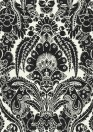 Chatterton - Designtapete von Cole & Son - Black