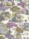 Tapete Versailles Grand von Cole & Son - Mulberry & Copper