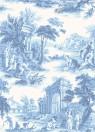 Tapete Villandry von Cole & Son - Cobalt Blue