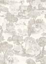 Tapete Versailles von Cole & Son - Charcoal