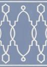 Bordüre Parterre von Cole & Son - Cobalt Blue
