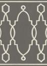 Bordüre Parterre von Cole & Son - Charcoal