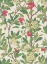 Tapete Strawberry Tree von Cole & Son - Scarlet & Ivory