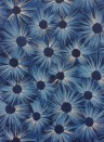 Tapete Estella von Osborne & Little - Midnight Blue/ Gilver