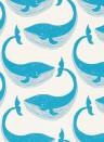 Kindertapete Whale of a Time von Scion - Ocean/ Parchment
