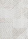 Geometrische Tapete Oblique von Arte - Weiß/ Beige