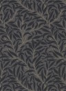 Morris & Co. Tapete Pure Willow Bough - Charcoal/ Black