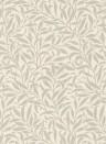 Morris & Co. Tapete Pure Willow Bough - Ecru/ Silver
