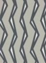 Streifen Tapete Rayo von Scion - Steel/ Liquorice