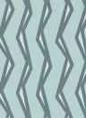 Streifen Tapete Rayo von Scion - Mist/ Denim