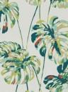 Florale Tapete Kelapa von Harlequin - Emerald/ Zest
