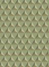 Geometrische Tapete Chloe von Sandberg - Light Green