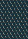 Geometrische Tapete Chloe von Sandberg - Blue