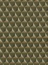 Geometrische Tapete Chloe von Sandberg - Dark Green