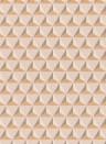 Geometrische Tapete Chloe von Sandberg - Pink