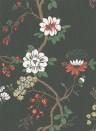 Tapete Camellia von Cole and Son - White/ Red