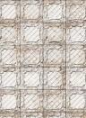 NLXL Tapete Large White Brooklyn Tins by Merci - TIN-09