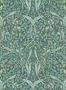 Blätter Wandbild Swirling Leaves von Eijffinger - 392572
