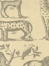 Tier-Tapete Ark von Andrew Martin - Parchment