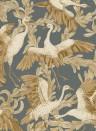 Kranich-Tapete Dancing Crane von Engblad & Co - 4581