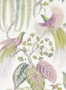Exotische Tapete Bird of Paradise von Sanderson - Orchid