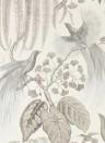 Exotische Tapete Bird of Paradise von Sanderson - Linen