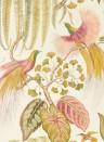 Exotische Tapete Bird of Paradise von Sanderson - Olive