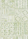 Tapete Cloisters von Nina Campbell - Green