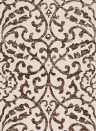 Tapete Brideshead von Nina Campbell - Charcoal/ Ivory