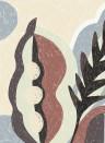 Wandbild Monaco von Elitis - Beige/ Braun