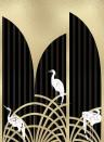 Coordonne Wandbild Tassel - Gold