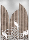 Coordonne Wandbild Tassel - Silver