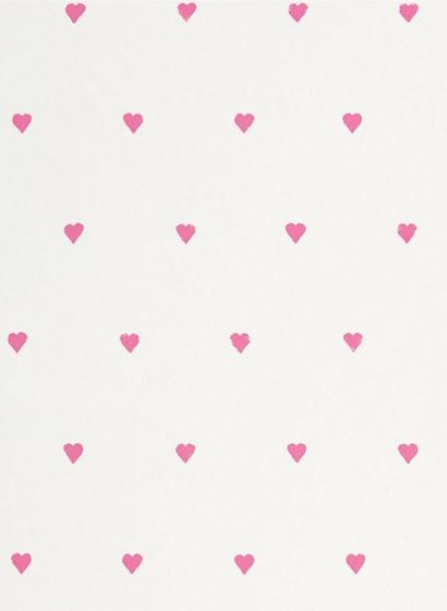 Love Hearts - Kindertapete von Harlequin - zuckerwatte/ nat