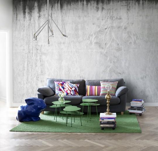 Wandbild Concrete