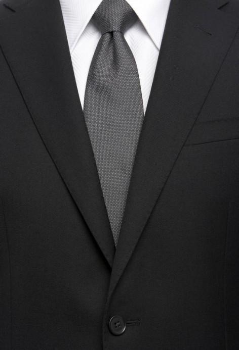 Wandbild Black Suit