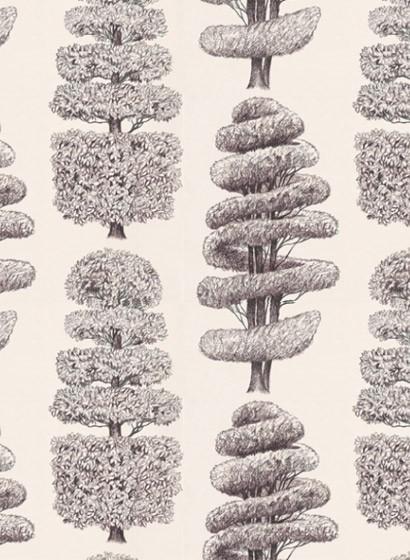 Linnaeus - Mustertapete von Designers Guild - Cocoa