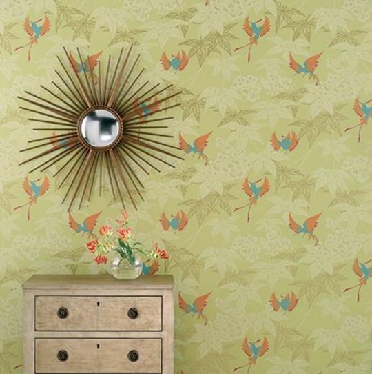 Tapete Grove Garden - Designtapete von Osborne and Little