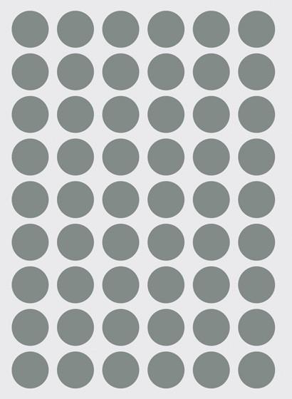 Wallsticker Mini Dots von ferm LIVING - grau
