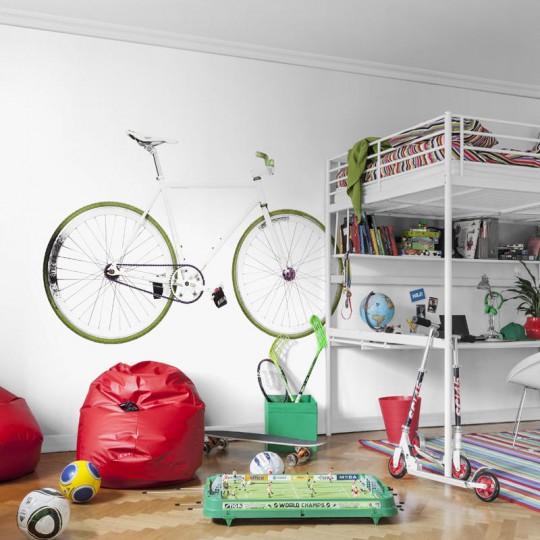 Wandbild Bike von MR PERSWALL