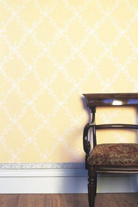 Tapete Toile Trellis - Designtapete von Farrow & Ball