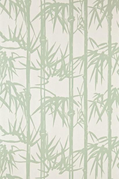 Bamboo von Farrow & Ball - Breakfast Room Green/ White Tie