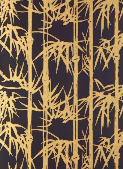 Bamboo von Farrow & Ball - Black/ Gold